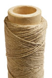 Hemp thread vertical Stock Photo