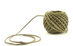 Hemp twine Stock Photo