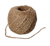 Hemp twine hank Royalty Free Stock Photo