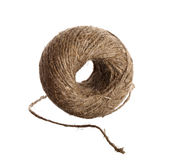 Hemp twine hank Royalty Free Stock Image