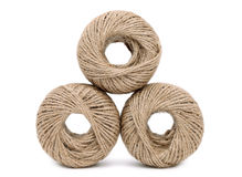 Hemp twine Royalty Free Stock Photography
