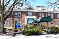Hempstead Long Islandpolishögskolan USA royaltyfri bild
