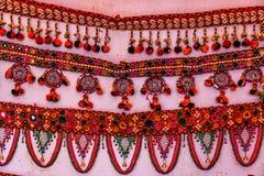 Hemslöjd av Gujarat, Indien Royaltyfri Foto