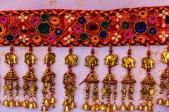 Hemslöjd av Gujarat, Indien Arkivbilder