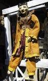 hemslöjdmandalay marionette myanmar Arkivfoton