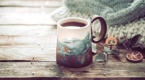 Hemtrevlig kopp te Royaltyfri Fotografi