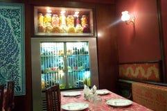 hemtrevlig restaurang Royaltyfria Bilder