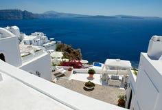 Hemtrevlig terrass Fotografering för Bildbyråer