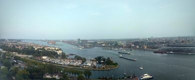 Hemtrevliga Amsterdam arkivfoton