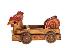Hen car Stock Images