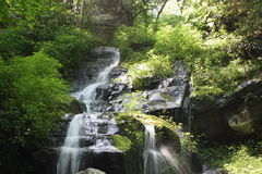 Hen Fallow Falls in Great Smoky Mountain National Park 1 Stock Image