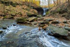 Hen Falls bleu en automne photo stock