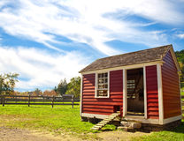 Hen house Royalty Free Stock Image