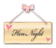 Hen Night Stock Photo
