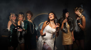 Hen party Stock Photography
