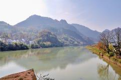 Hen River Fotografía de archivo