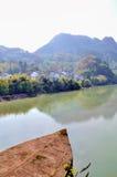 Hen River Fotos de archivo libres de regalías