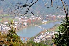 Hen River Foto de archivo libre de regalías
