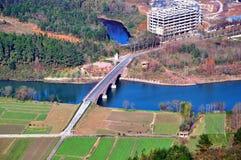 Hen River Imagenes de archivo