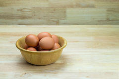Hen's eggs Royalty Free Stock Photo