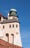 Hen's Foot Tower of Wawel castle in Krakow, Poland Royalty Free Stock Photos