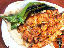 Hen shish Stock Photo
