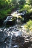 Hen Wallow Falls en grand parc national 4 de montagne fumeuse image stock
