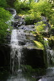 Hen wallow Falls in Great Smoky Mountain National Park 3 Stock Photo