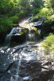 Hen Wallow Falls in Great Smoky Mountain National Park 4 Stock Image