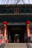 Henan, διάσημο τουριστικό αξιοθέατο της Κίνας ` s, ναός Shaolin, Songshan στοκ εικόνες