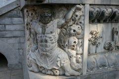 Henan, διάσημο τουριστικό αξιοθέατο της Κίνας ` s, ναός Shaolin, Songshan στοκ φωτογραφία