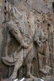 Henan, διάσημο τουριστικό αξιοθέατο της Κίνας ` s, Longmen Grottoes, Luoyang Στοκ Φωτογραφίες