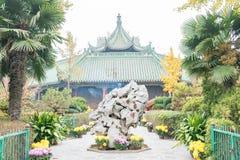 HENAN, ΚΊΝΑ - 15 Νοεμβρίου 2015: Ναός Daxiangguo διάσημος ένας ιστορικός Στοκ εικόνα με δικαίωμα ελεύθερης χρήσης