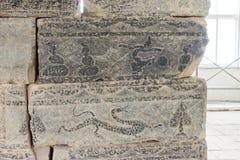 HENAN, CHINA - 4 de noviembre de 2015: Puertas de Qimu Que (patrimonio mundial de la UNESCO Fotos de archivo libres de regalías