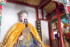 HENAN, CHINA - 30 de outubro de 2015: Estátua de Zhuge Liang em Nanyang Mem imagem de stock