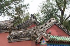 HENAN, CHINA - 30 de outubro de 2015: Templo memorável de Nanyang de Wuhou (Na imagens de stock