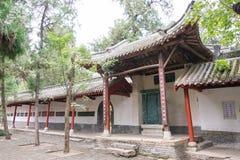 HENAN, CHINA - 30 de outubro de 2015: Templo memorável de Nanyang de Wuhou (Na imagens de stock royalty free