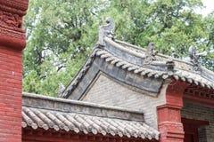 HENAN, CHINA - Nov 04 2015: Roof at Huishan Temple(UNESCO World Stock Image