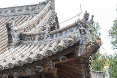 HENAN, CHINA - Nov 04 2015: Roof at Huishan Temple(UNESCO World Royalty Free Stock Photos