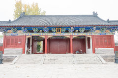 HENAN, CHINA - 17 Nov. 2015: Suirengraf (Suihuangling) in Shangqi royalty-vrije stock fotografie