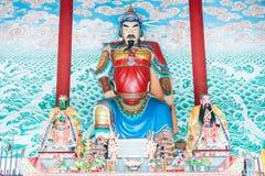 HENAN, CHINA - 17 Nov. 2015: Zhang Xun Statue in Zhang Xun Temple Royalty-vrije Stock Foto