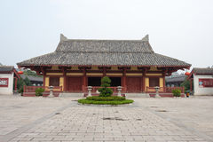 HENAN, CHINA - Oct 26 2015: Prime Minister Cao Palace. a famous Stock Photography