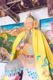 HENAN, CHINA - Oct 31 2015: Statue of Huang Zhong at Huang Zhong Stock Photo