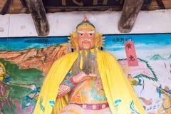 HENAN, CHINA - Oct 31 2015: Statue of Huang Zhong at Huang Zhong Royalty Free Stock Images