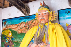 HENAN, CHINA - Oct 31 2015: Statue of Huang Zhong at Huang Zhong Stock Photos
