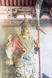 HENAN, CHINA - Oct 27 2015: Statue of Liao Hua at Xuchang Guandi Stock Photo