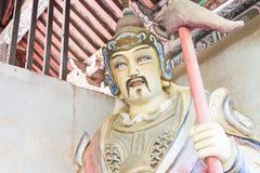 HENAN, CHINA - Oct 27 2015: Statue of Liao Hua at Xuchang Guandi Stock Image