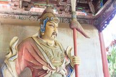HENAN, CHINA - Oct 27 2015: Statue of Liao Hua at Xuchang Guandi Royalty Free Stock Photography