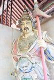 HENAN, CHINA - Oct 27 2015: Statue of Liao Hua at Xuchang Guandi Royalty Free Stock Photos