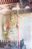 HENAN, CHINA - Oct 27 2015: Statue of Liao Hua at Xuchang Guandi Stock Images